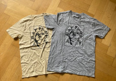 T-Shirts_ camel beige_ grau
